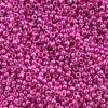 Seedbead Metallic Pink 10/0